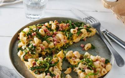 Dinkel-Nudel-Omelett