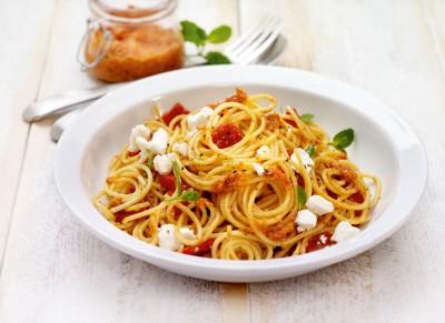 Griechische Spaghetti