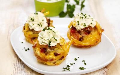 Maccaroni-Muffins
