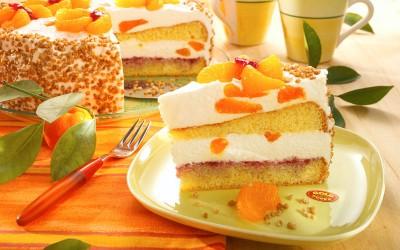 Orangen Schmand Torte