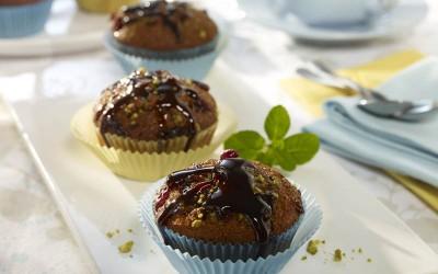 Cranberry-Pistazien-Muffins