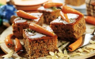 Möhren- Schoko-Kuchen
