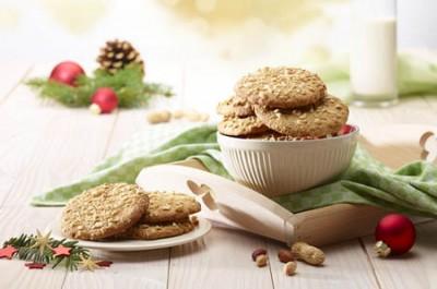 Erdnuss-Cookies mit Honig