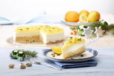 Frischkäse-Torte mit Honig