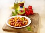 Penne Arrabbiata mit Paprika und Chorizo