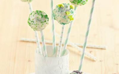 Schoko-Rosinen-Cakepops