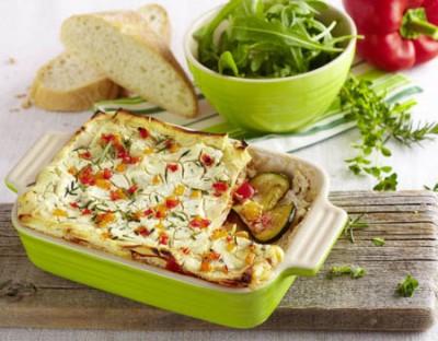 Vegetarische Lasagne mit Chavroux