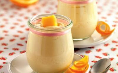 Mango-Orangen-Mousse