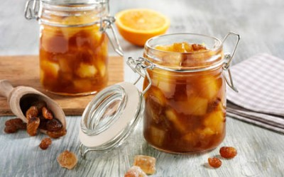 Orangen-Chutney