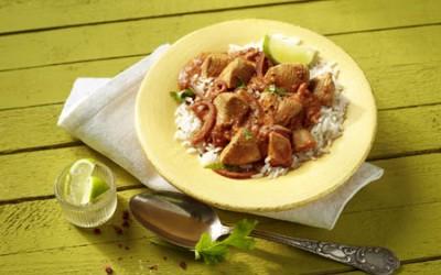 Chicken Tikka Masala mit Basmati-Reis