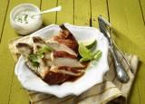 Tandoori-Chicken mit Limetten-Minz-Joghurt