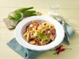 Orecchiette mit Fenchel, Chili, Tomate und Pute