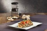 Champignon-Zucchini-Lasagne mit Kirschtomaten