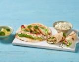 Wraps mit Avocado, Gervais Hüttenkäse® und gebratener Hühnerbrust