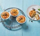 Herzhafte Muffins mit Gervais Hüttenkäse ®, Grünkern und Kräutern