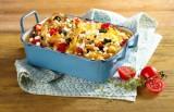 Nudel-Auflauf mit mediterranem Gemüse und Gervais Hüttenkäse ®