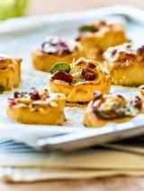 Pizza-Dattel-Schnecken