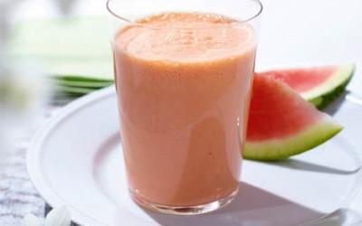 Cremiger Melonen-Smoothie
