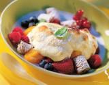 Quarkgratin mit Früchten