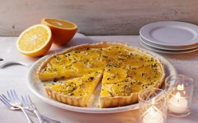 Honig-Orangen-Tarte