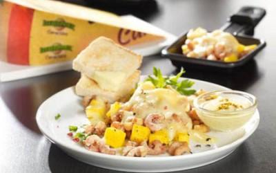 LEERDAMMER® Caractère Raclette-Krabbenpfännchen