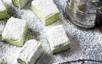 Matcha-Marshmallows