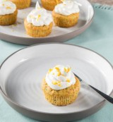 Zitronenfrische Zucchini-Cupcakes
