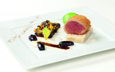 Ragout vom Neuseelandhirsch & Filet im Weißbrotmantel