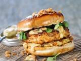 Captain's Burger mit Lachs aus Norwegen