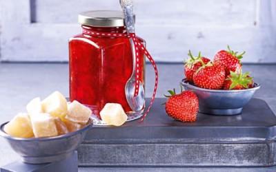 Erdbeer-Ingwer-Konfitüre