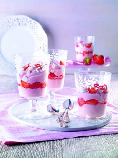 Himmlisches Erdbeer-Dessert