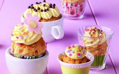 Hefe-Cupcakes