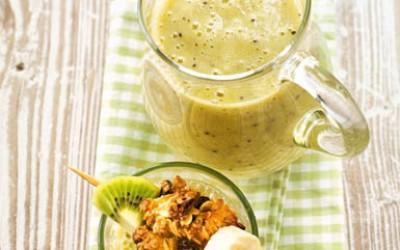 Kiwi-Bananen-Smoothie