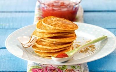 Mini-Kokos-Pancakes