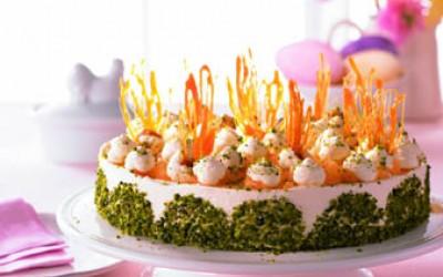 Ananas-Möhrensaft-Torte