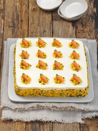 Möhren-Orangen-Torte