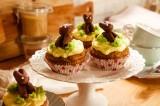 Vegane Möhren-Nuss-Cupcakes