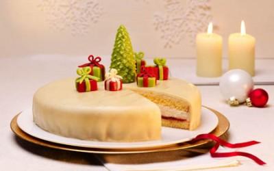 Zimt-Sahnecreme-Torte