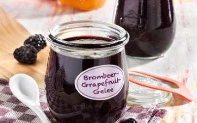 Brombeer-Grapefruit-Gelee