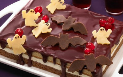 Der Halloween Gespenster-Kuchen