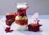 Weihnachts-Brownies zum Verschenken