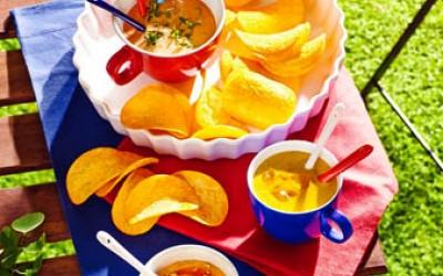 Pringles Dip Ideen