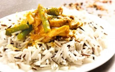 Indisches Hähnchencurry