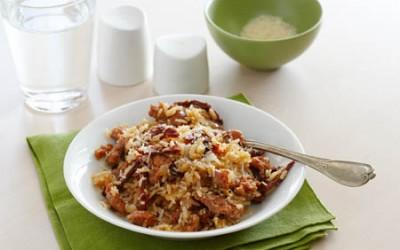 Italienischer Reis mit Salsiccia