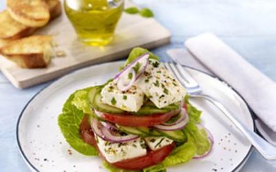 """Mediterraner Salat """"mal anders"""""""