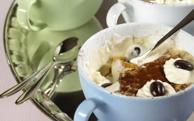 Tiramisu in der Kaffeetasse