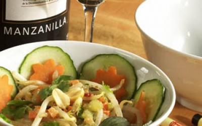 Sojasprossen-Salat