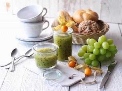 Grüner Fruchtaufstrich