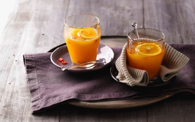 Orangen-Limettenpunsch