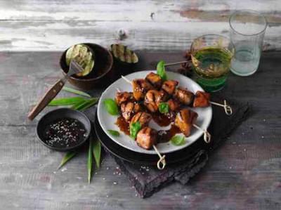 Hähnchenbrust mit süß-scharfer Hoisin-Sauce